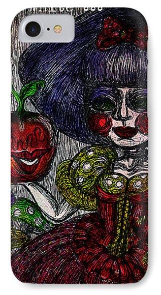 Snow White IPhone Case by Akiko Okabe
