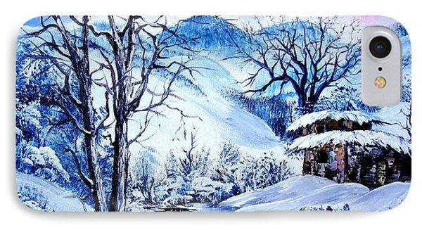 Snowy Day Phone Case by Shirwan Ahmed