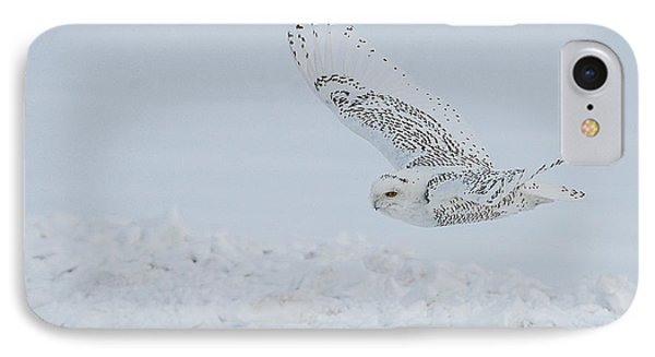 IPhone Case featuring the photograph Snowy Owl #2/3 by Patti Deters