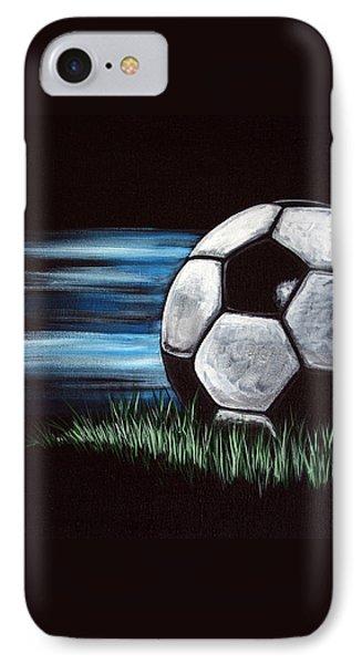 Soccer Ball IPhone Case by Dani Abbott