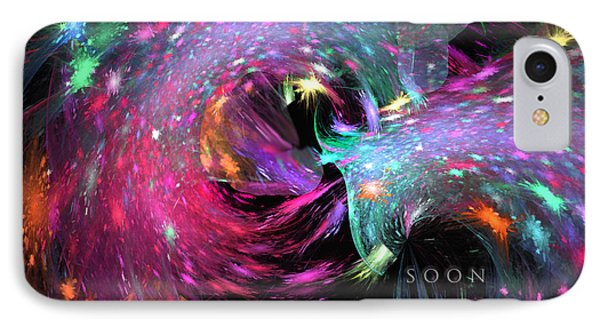 IPhone Case featuring the digital art Soon by Margie Chapman