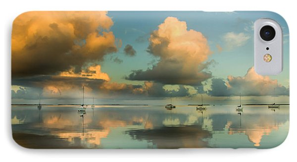 Sounds Of Silence IPhone Case by Karen Wiles