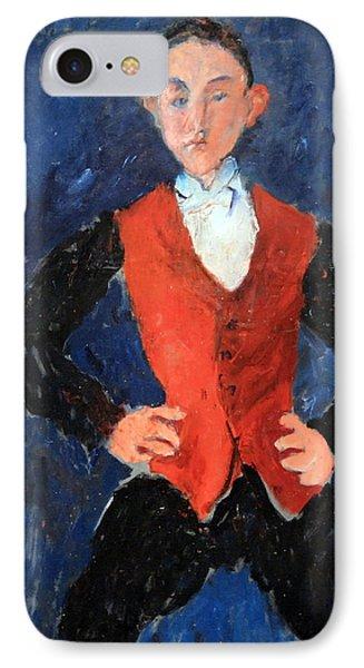 Soutine's Portrait Of A Boy IPhone Case by Cora Wandel