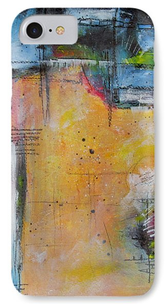 IPhone Case featuring the painting Spring by Nicole Nadeau
