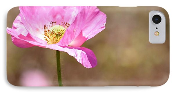 Spring Poppy Flower IPhone Case by P S