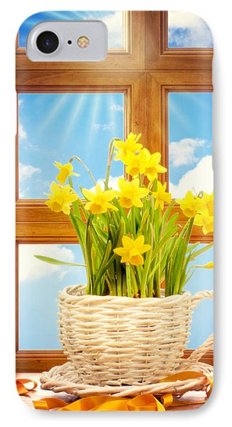 Spring Window Phone Case by Amanda Elwell