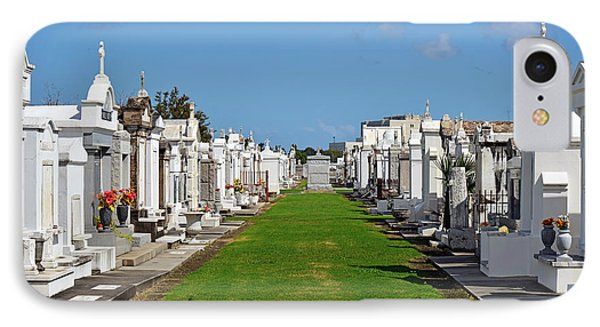 St Louis Cemetery No 3 New Orleans Phone Case by Christine Till