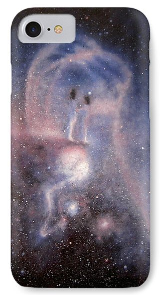 Star Couple IPhone Case