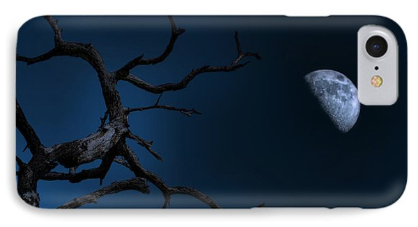 Stark Raving Moon IPhone Case by Mark Andrew Thomas