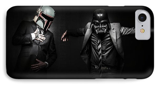 Starwars Suitup IPhone Case by Marino Flovent