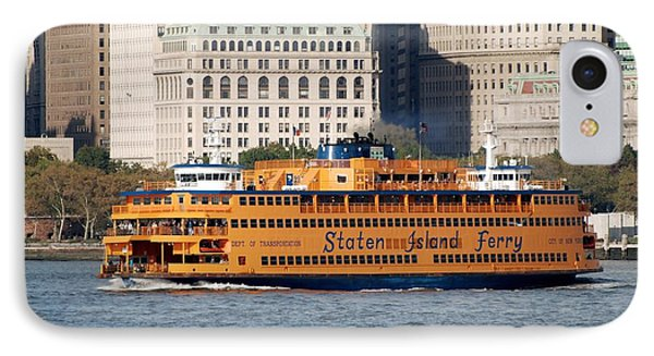 Staten Island Ferry IPhone Case by Rob Hans