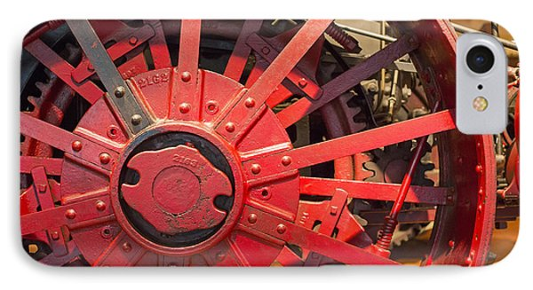 IPhone Case featuring the photograph Steam Traction Engine by Jim West