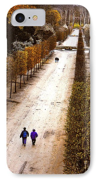 Strolling Versailles Phone Case by Barbara D Richards