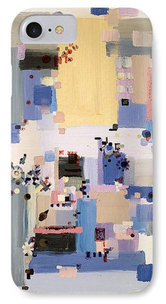 Subtle Machinery IPhone Case by Regina Valluzzi