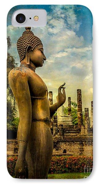 Sukhothai Buddha IPhone Case
