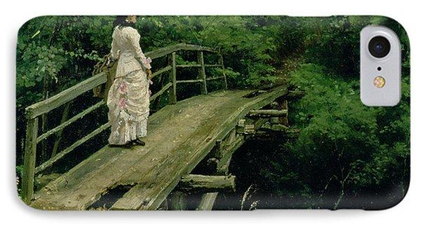 Summer Landscape IPhone Case by Ilya Efimovich Repin