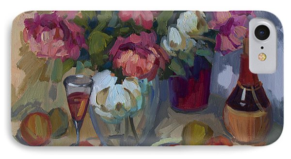 Summer Peonies IPhone Case by Diane McClary