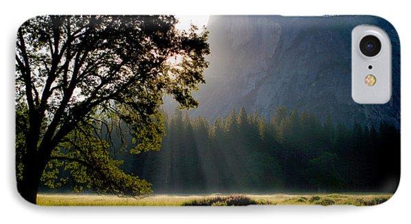 Summer Sunrise In Yosemite Valley IPhone Case