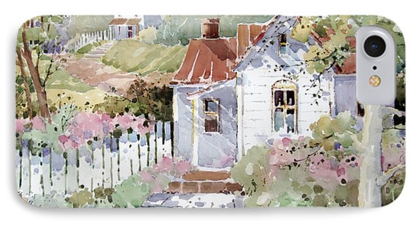 Summer Time Cottage IPhone Case by Joyce Hicks