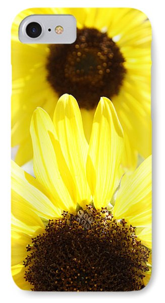 Sunflowers Phone Case by Les Cunliffe