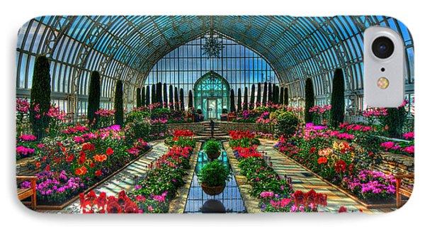 Sunken Garden Como Conservatory IPhone Case by Amanda Stadther