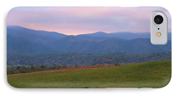 Sunrise In Cades Cove Phone Case by Dan Sproul