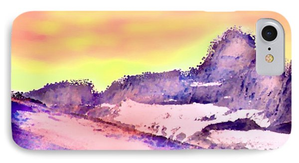 Sunrise In Mountains Phone Case by Dr Loifer Vladimir