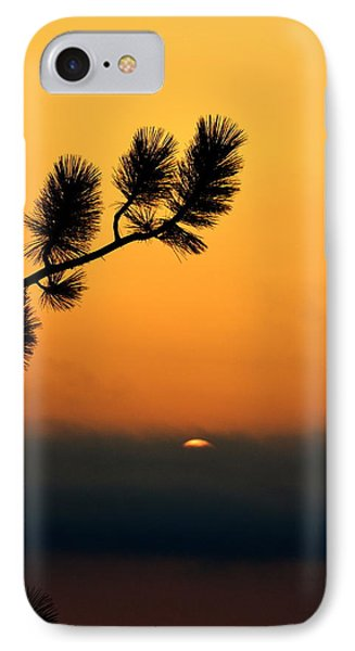 IPhone Case featuring the photograph Sunset At Yosemite by Rima Biswas