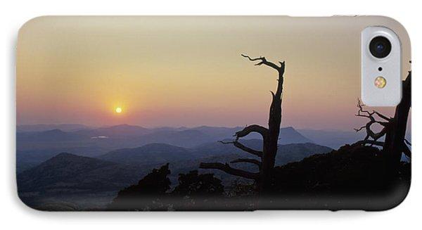 Sunset From Mt Scott IPhone Case