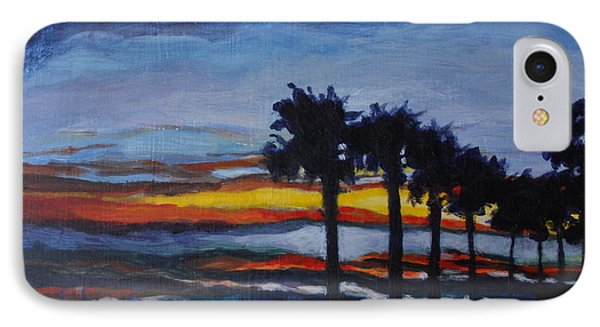 Sunset In St. Andrews IPhone Case by Jan Bennicoff