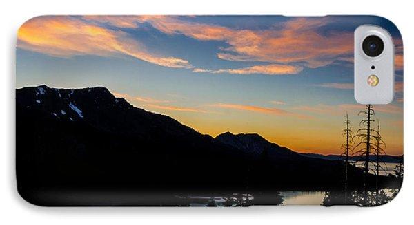 Sunset On Angora Ridge Phone Case by Mitch Shindelbower