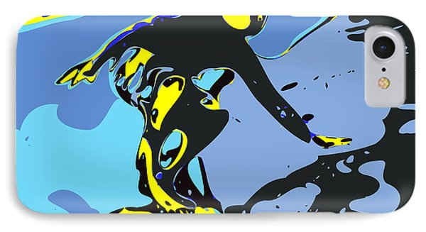 Surfer Phone Case by Chris Butler