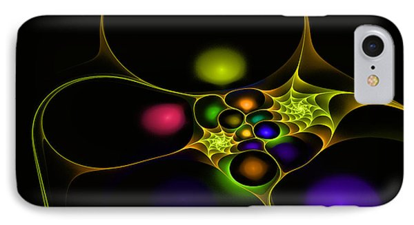 Surreal Fractal IPhone Case by Melissa Messick