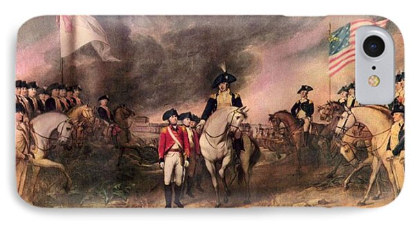 Surrender Of Lord Cornwallis IPhone Case