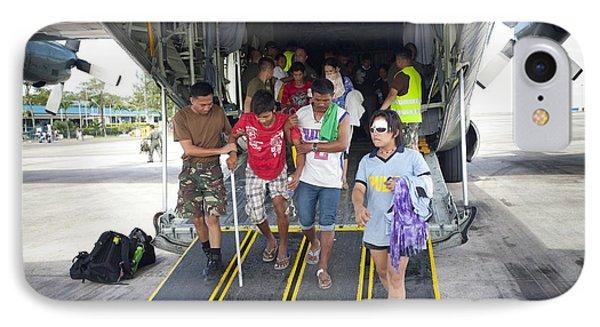 Survivors Of Super Typhoon Haiyan IPhone Case by Jim Edds