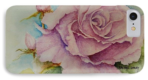 Susan's Rose IPhone Case by Rachel Lowry