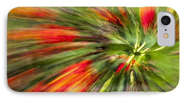Swirl Of Red IPhone Case by Jon Glaser