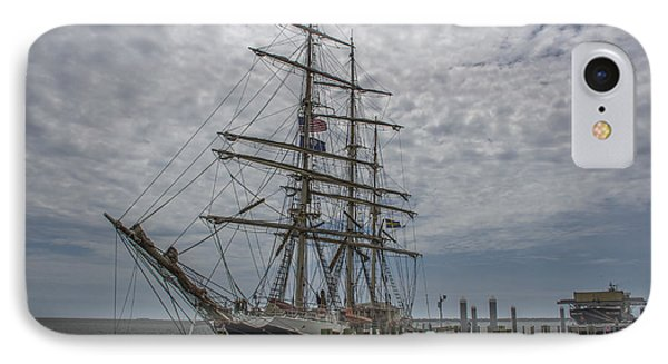 IPhone Case featuring the photograph Tall Ship Gunilla by Dale Powell