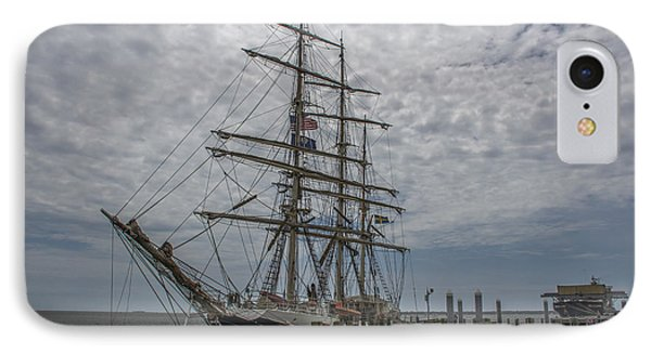 Tall Ship Gunilla IPhone Case by Dale Powell