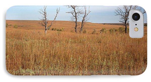 Tallgrass Prairie IPhone Case by Jim West
