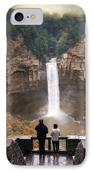 Taughannock Falls IPhone Case by Jessica Jenney