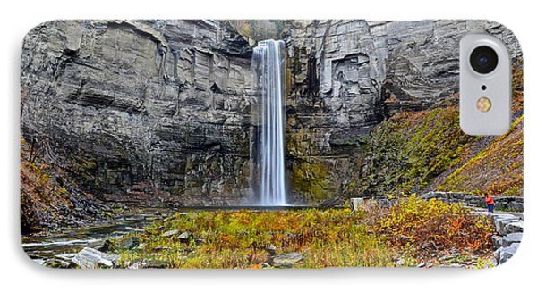 Taughannock Falls Phone Case by Frozen in Time Fine Art Photography
