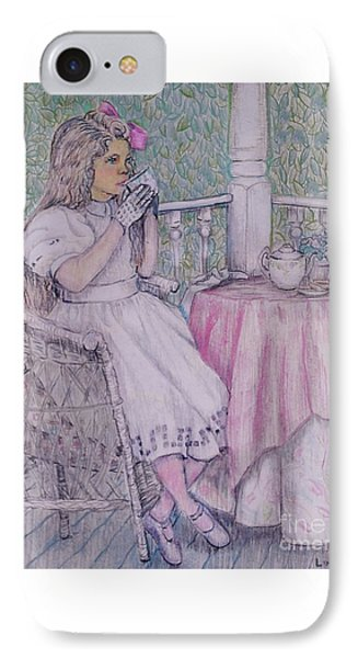 Tea Time For Alexis IPhone Case