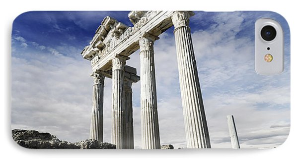 Temple Of Apollo In Side Phone Case by Jelena Jovanovic