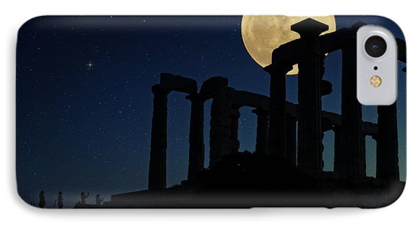 Temple Of Poseidon  IPhone Case by Emmanuel Panagiotakis