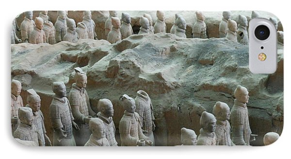 IPhone Case featuring the photograph Terracotta Army by Kay Gilley