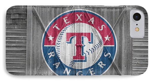Texas Rangers Phone Case by Joe Hamilton