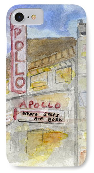The Apollo Theatre IPhone Case by AFineLyne