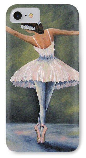 The Ballerina Iv IPhone Case by Torrie Smiley