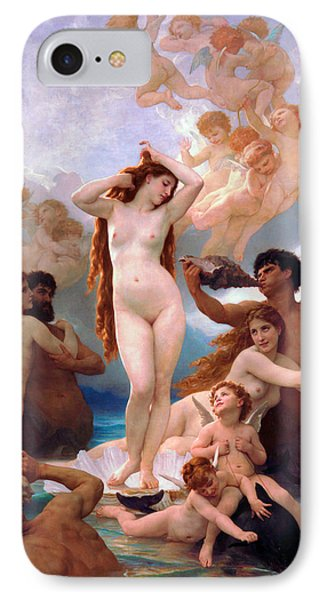 Venus Williams iPhone 7 Case - The Birth Of Venus by William-Adolphe Bouguereau